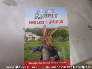 Peter Rabbit Mad Libs