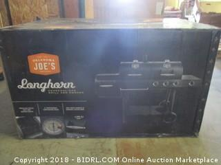 Oklahoma Joe's Charcoal/LP Gas/Smoker Combo (Retail $449.00)