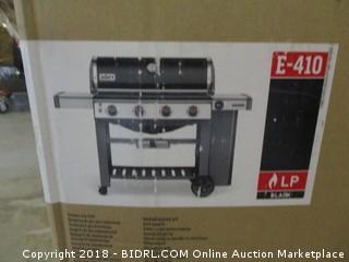 Weber 62010001 Genesis II E-410 Liquid Propane Grill, Black (Retail $899.00)