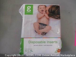 Disposable Diaper Inserts