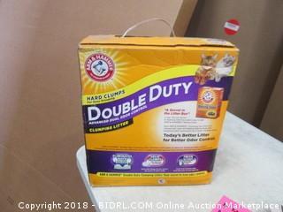 Double Duty Cat Litter