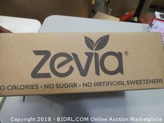 Zevia Sparkling Water Cucumber Lemon 24 Cans