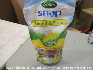 Scotts Snap Pac Weed & Feed