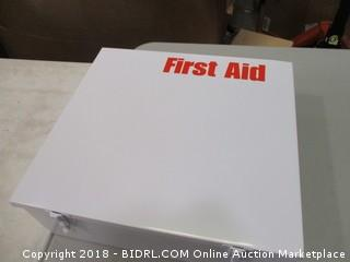 First Aid Metal Box Only