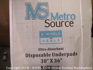 MS Metro Source Disposable Underpants