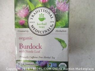 Organic Burdock w/ Nettle Leaf Tea Bags