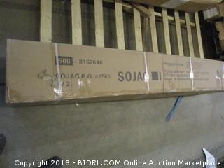 Sojag 500-5157222 Dakota Sun Shelter, 10' x 12', Dark Brown (Retail $1,699.00) - Incomplete
