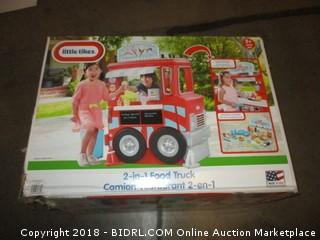 Little Tikes 2-in-1 Food Truck (Retail $140.00)