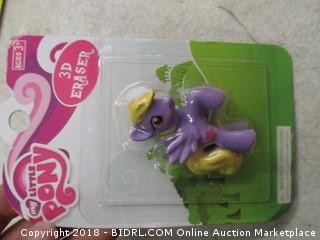 My Little Pony Eraser