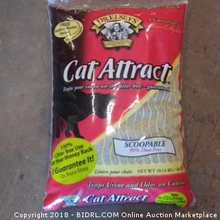 Dr Elseys Cat Attract Scoopable Litter 40LBS
