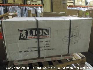 LION Premium Grills Bar Center
