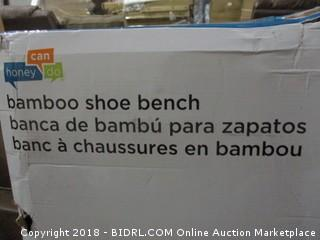 Bamboo Shoe Bench