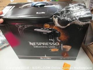 Breville Nespresso Machine