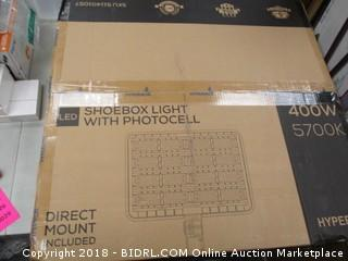 Shoebox Light with Photocell