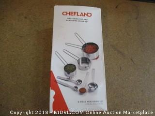 Chefland Measuring Cups and Spoons