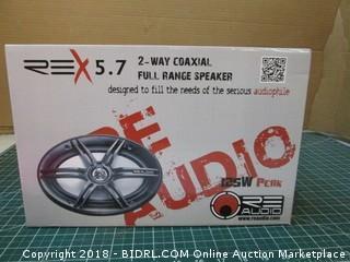 REX 5.7 2-Way Coaxial Full Range Speaker
