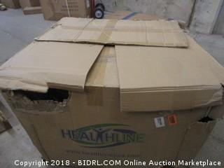 Healthline Trading Heavy Bariatric Commode