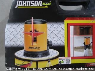Johnson Self Leveling Cross Line Laser Kit