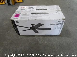 "Cyclone 60"" Ceiling Fan"