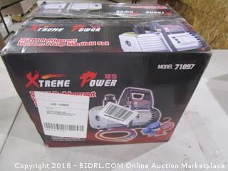 Xtreme Power 3CFM Refrigerant Vacuum Pump Manifold Set
