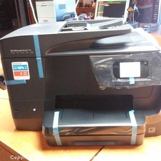 HP Officejet  Pro Printer  Powers On
