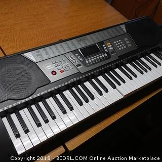 Music Keyboard Powers On