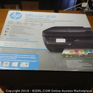 HP Officejet Printer No Power
