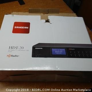 Sangean HDT-20 HD Radio/FM-Stereo/AM Tuner Powers On