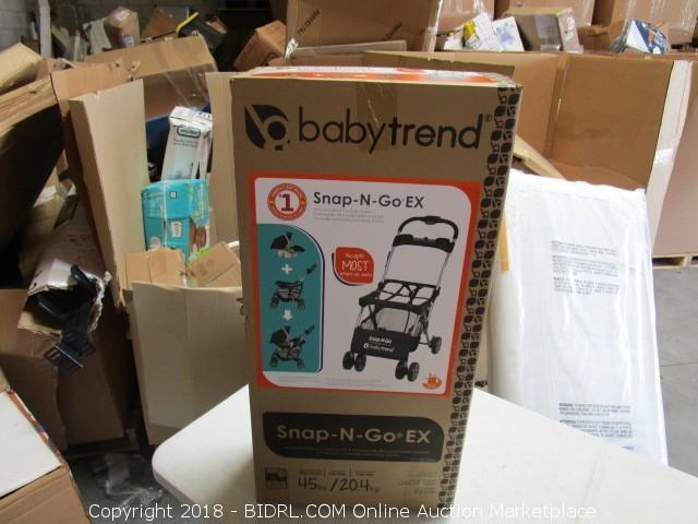 Babytrend Snap N Go EX Universal Infant Car Seat Carrier