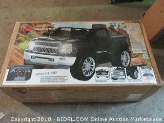 Rollplay Chevy Silverado 6 Volt Ride-On Vehicle, Black (Retail $239.00)