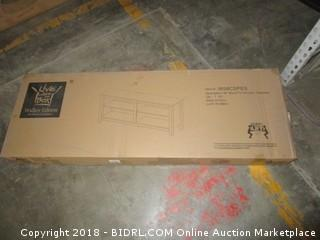 "Walker Edison 58"" Wood TV Console - Espresso"