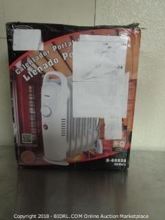 Portable Oil Filled Radiator Heater