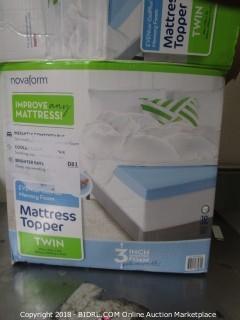 Twin Mattress Topper