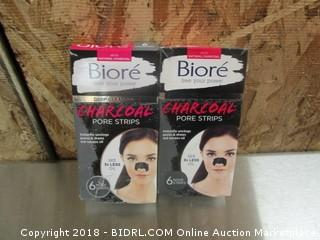 Biore Charcoal Pore Strips