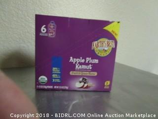Apple Plum Kamut Puree