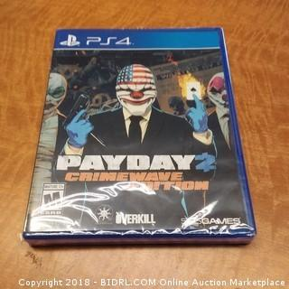 PS4 Payday Crimewave Edition