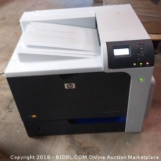 Hp Printer Powers On