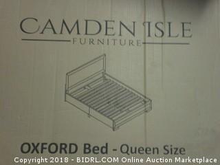 Camden Isle Oxford Bed, Queen, Oak (Retail $267.00)
