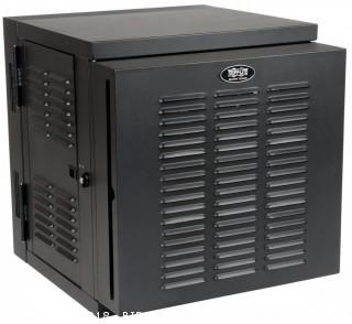 "Tripp Lite 12U Wall Mount Rack Enclosure Server Cabinet, Hinged, 20.5"" Deep, Switch-Depth, NEMA (SRW12USNEMA) (Retail $691.00)"