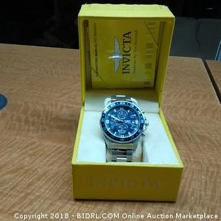 Invicta Watch In Case See Pictures