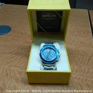 Invicta Watch In Case