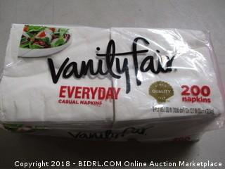 Vanity Fair napkins