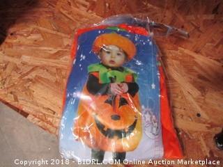 Toddler Pumpkin Costme