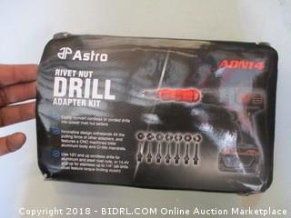 Rivet Nut Drill Adapter Kit