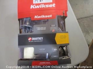 Kwikset Smartkey Combo Pack
