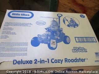 Deluxe 2-in1 Cozy Roadster