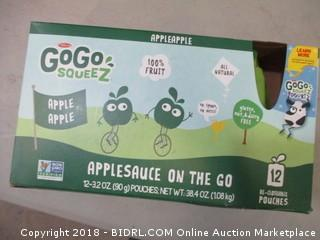 GoGO Squeeze Applesauce
