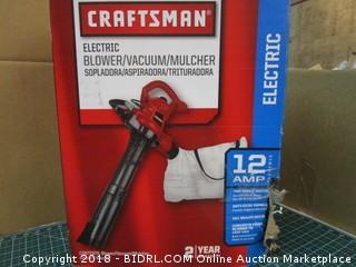 Craftsman Electric Blower/Vacuum/ Mulcher