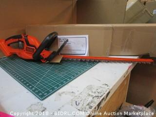 Black + Decker Hedge Trimmer