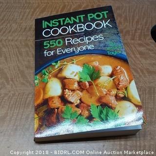 Intstant Pot Cookbook